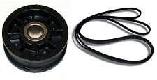 Dryer Idler Pulley Wheel WPY54414 & Drum Belt WP40111201 Whirlpool Factory Parts
