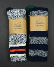 J. Crew - 2 PAIRS OF CAMP SOCKS - F7137 Hiking Casual