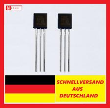 2x MCP1700-3302E/TO Spannungsregler LDO Positiv  250MA  3.3V ,6V TO92 1700-3302E