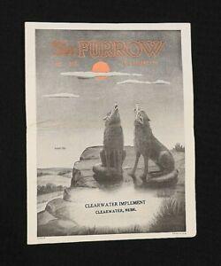 "1948 Oct-Nov JOHN DEERE ""The Furrow"" Clearwater Implement NE NEBRASKA BROCHURE"