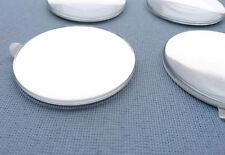 (55 Ch) 4x Chrom Linsen für Nabenkappen Felgendeckel 55mm Emblemen Aufkleber