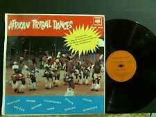 AFRICAN TRIBAL DANCES  LP  South African  RARE   Beats     Lovely copy!