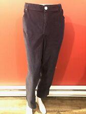 CROWN & IVY Women's Navy Blue Curvy Corduroy Pants - Size 24W - NWT