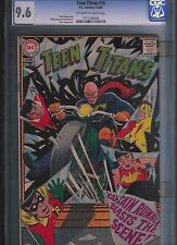 Teen Titans # 15 CGC 9.6  Off White to White Pages. UnRestored