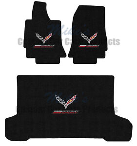 LLOYD Ultimat 3PC FRONT/REAR FLOOR MATS *C7 Grand Sport Convertible *Licensed GM