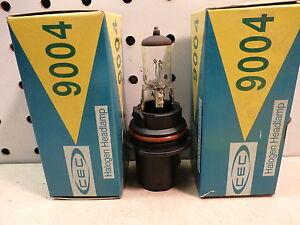 9004 Headlight Bulb, Set Of 2, 12 Volt, Clear, Free US Ship `