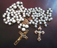 2 Old Rosary Chains Jesus Christ