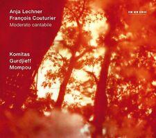 LECHNER,ANJA/COUTURIER,FRANCOIS - MODERATO CANTABILE  CD NEU