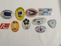Retro Mining Sticker - 10 Stickers as pictured (Lot 16)
