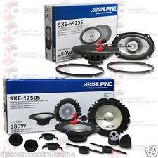 """ALPINE SXE-1750S 6.5"""" 2-WAY COMPONENT WITH SXE-6925S 6""""x9"""" 2-WAY CAR SPEAKERS"""