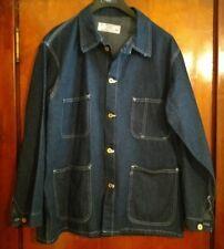 Universal Overall Stone Cutter Denim Jacket Work Jacket Size 48