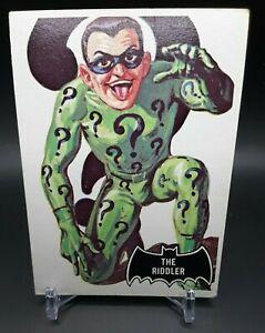 1966 Topps Batman Black Bat Non-Sport #36 The Riddler EX/NM+