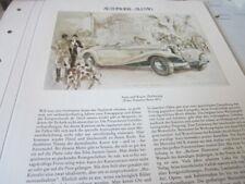 Deutsches Automobil Archiv N 4140 Kunst Hans Liska Mercedes 540 K