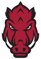 "Arkansas Razorbacks Color Die Cut Vinyl Decal Sticker - You Choose Size 2""-42"""