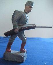 Soldat ancien  en  composition (linéol durso élastolin) Années 30