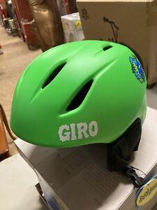 ! Giro Launch MIPS Youth Small Snow Ski Snowboard Helmet Matte Bright Green