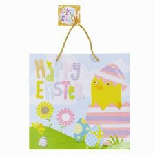 Easter gift bags ebay happy easter gift bag with 2 rope handles and gift tags negle Choice Image