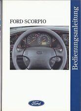 Bedienungsanleitung / Owners manual Ford Scorpio 9/94