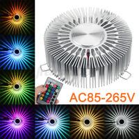 Modern 3W LED Wall Ceiling Light Sconce Warm White Lighting Fixture Decor