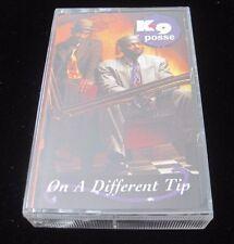 K9 POSSE On a Different Tip rare cassette tape hip hop rap new jack swing OOP