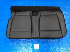 2015 - 2019 FORD F150 LARIAT LEFT REAR SEAT COVER BOTTOM CREW CAB BLACK LEATHER