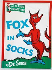 1997 Dr. Seuss : FOX IN SOCKS Classic Collection Beginner Book Collins Paperback