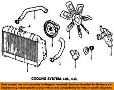 Jeep CHRYSLER OEM 00-01 Cherokee-Radiator 52080104AC