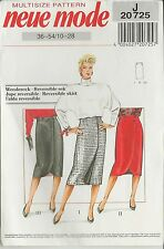 out-of-print:  Neue Mode, Wenderöcke, reversible skirt, Gr. 36 - 54, 10 up to 28