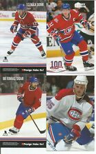 Lot of 8 Montreal Canadiens Postcards Domi, Koivu, Tatar, Gallagher,Kovalev mint