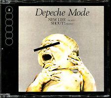 DEPECHE MODE - NEW LIFE / SHOUT - CD MAXI [1929]