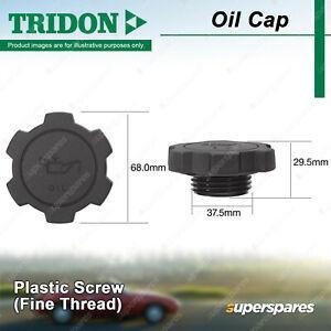 Tridon Oil Cap for Toyota Landcruiser Prado 95 99 120 Lite-Ace MR2 Prius RAV4
