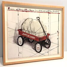 CHRISTO - Package on Radio Flyer Wagon, Project 1993 - SIGNED Limited Ed #55/200