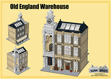 Building instructions, consist of LEGO element - Old England Warehouse
