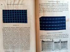 TRAITE DE LA TEINTURE  2nd ED 1878 TEXTILES rare, full of real examples .LACROIX