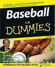 Baseball For Dummies (For Dummies (Sports & Hobbies))-ExLibrary