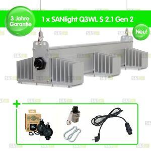 1x SANlight Q3WL S2.1 Gen2 120W + Easy Rolls + Netzkabel + Karabiner + Dimmer
