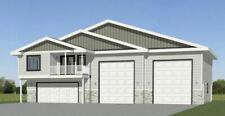60x44 Apartment with 2-Car 2-RV Garage - PDF FloorPlan - 1,415 sqft - Model 1A