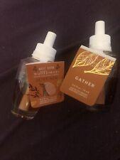 Autumn/Gather White Barn- Bath & Body Works -Wallflowers Home Fragrance Refill