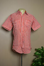 VINTAGE 70's ROCKMOUNT RANCH WESTERN COWBOY SNAP SHIRT * SIZE 16  LARGE