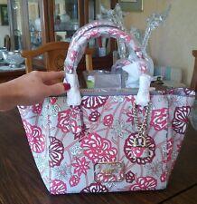 Guess Ophelia satchel, color rose multi