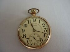 Pocket Watch 17 Jewels Antique Illinois Watch Co. Springfield