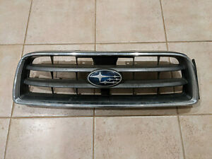 DAMAGED Subaru Forester SG5 SG9 Front Grill 91122SA070 Pre Facelift 2002 - 2005