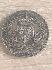 5 Francs Louis Xviii 1818MA