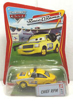 💥NEW Disney Pixar The World of Cars Race O Rama Chief RPM #77💥