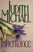 INHERITANCE By Judith Michael~Hardcover **BRAND NEW** Lovely story!