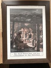 More details for ww1 framed christmas in the trenches original the graphic 1915