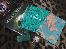 ROLEX 5X BOOKLET SET SUBMARINER 14060 16610..SEA-DWELLER 16600 GERMAN DE 3.1998