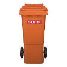 60 Liter SULO Mülltonne Müllbox Abfalleimer Abfalltonne Abfallbehälter in orange