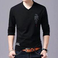 Camisa Casuales para hombre Camisas de manga larga Ropa para hombres de moda New