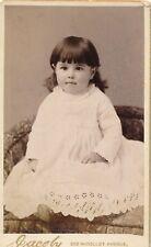 1886 CDV Cordelia Pond, Baby Girl, Jacoby Photo, Minneapolis, Minnesota